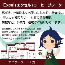 エクセル(Excel)でアンケートや集計などの便利な機能を紹介 製品画像