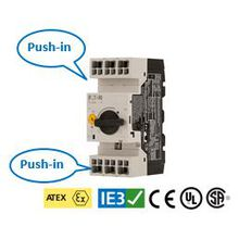 Push-in対応のPKZM0 モータブレーカ 製品画像