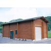【木製】設備小屋(ログ、在来)【ポンプ小屋、倉庫、水門小屋など】 製品画像