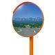 【道路反射鏡】アクリルカーブミラー※軽量で取り付けが簡単! 製品画像