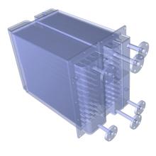試作用熱交換器を、1台から製作! 高効率化・コンパクト化に対応 製品画像