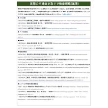 【中国規格】実際の市場抜き取りでの検査規格(基準) 製品画像