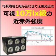 850nmの照明『SOL-900-06IR85/94』 製品画像