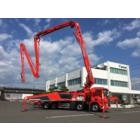 国内最大級46mブーム付コンクリートポンプ車「プツマイスター」 製品画像