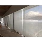 電動ロールスクリーン施工事例 北海道ニセコ 某施設 製品画像