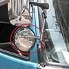 トラック用平面ミラー丸棒タイプ「FB-20C」丸型 ステンレス 製品画像