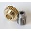 【加工事例】旋盤加工・歯切り加工(材質:S45C/CAC502) 製品画像