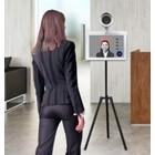"""サーモカメラ『10.1""""size顔認識非接触体温測定装置』 製品画像"""