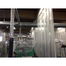 【施工事例】工場内 間仕切りカーテン 製品画像