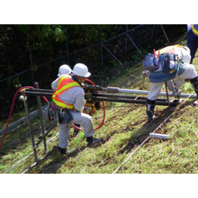 恒久排水補強パイプ(PDR工法)【地震対策工・斜面対策工】 製品画像