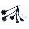 H.R.SILVINE社製 各国向け安全規格取得電源コード 製品画像