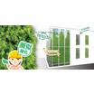 装飾用擬似緑化材『アドグリーンウォール』 製品画像