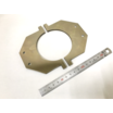 『製作事例』装置部品 ワイヤーカット (アルミ、A5052材) 製品画像