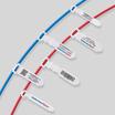 レーザープリンター『名札型両面表示ラベル』インシュロック 製品画像