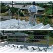 折板屋根墜落防止対策「折板屋根支柱」 製品画像