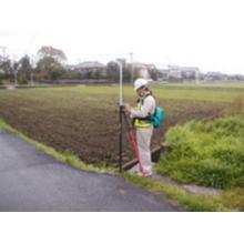 【事例】用地測量のための四級基準点設置作業 製品画像