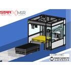 MiR(自律走行搬送ロボット)×スター精機(ロボットパレタイザ) 製品画像