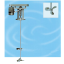 撹拌機『ロータリー式撹拌機アジター』 製品画像