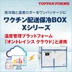 『温度トレース機能付き医療用保冷パッケージ Xシリーズ』 製品画像