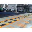 【工場・清掃工場・物流施設の事例】アルコムの減速帯設置例 製品画像