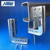 【LGキャッチャー】C形鋼用吊り金具の補強金具 製品画像