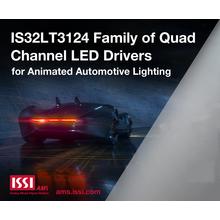 車載向け4チャンネル リニアLEDドライバ IS32LT3124 製品画像