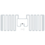 UHF帯 RFID ICタグ MiniWeb MonzaR6-P 製品画像