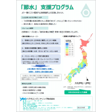 「節水」支援プログラム 製品画像