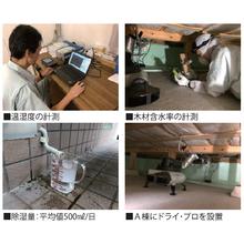 【効果検証テスト】床下除湿送風機『ドライ・プロ』 製品画像