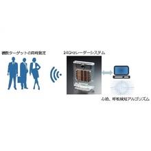 生体計測ミリ波センサー「miRadar(tm)8《VSM》」 製品画像