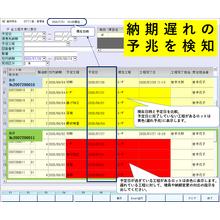 遅れの予兆に気づける生産管理システム『Telegno-SYS』 製品画像