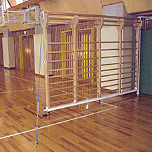 回転式肋木<木製・4欄型> GF-4121 製品画像