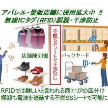RFID電子タグシールド対策 干渉誤読解決しアパレル・専門店採用 製品画像