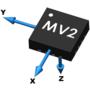 MagVector「MV2」 3軸 磁気センサ素子 製品画像
