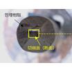 ミクロトームによる眼鏡レンズコート層の観察 製品画像