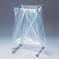 袋の脱着がワンタッチ!折り畳みができるゴミ箱『エックスハンガー』 製品画像