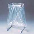 袋の脱着をワンタッチで!折り畳みできるゴミ箱『エックスハンガー』 製品画像
