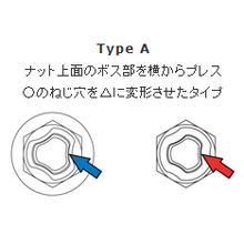 【TRES LOCKシリーズ】構造 TypeA・TypeB 製品画像