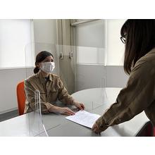 【オーダー事例集あり】プラスチック製 飛沫防止パネル【見積無料】 製品画像