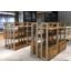 木製店舗什器『Vas Rack-R(アイランド)』 製品画像