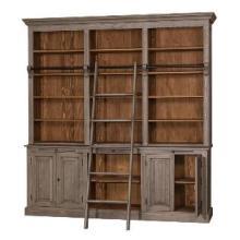 ロセウス 大型ブックケース家具 梯子付き本棚(ヨーロッパ製 ) 製品画像