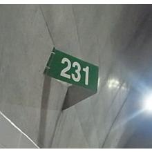 トンネル特殊両面距離標 製品画像