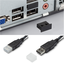USBコネクタ カバー・USB差込口防塵プラグ 製品画像