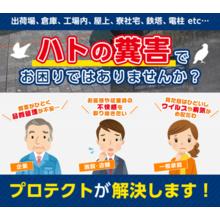 【鳥害対策のトータルプランニング】 ~ハトの糞害でお困りの方へ~ 製品画像