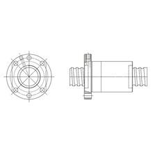 【CAD】静音・高DNボールねじのCADデータ一覧 製品画像