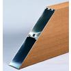 【木調】木粉樹脂・アルミ複合材『KURATTICE ECO』 製品画像