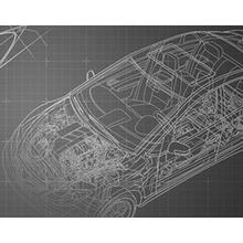 2次元から3次元への図面データ変換モデリングサービス 製品画像