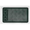 面状発熱体 標準品 FLヒーター05_単箔_20Ω 製品画像