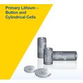 リチウム一次電池 円筒形およびボタン形 CRシリーズ 製品画像