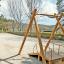 木製遊具 ロープウェイ W-400 製品画像